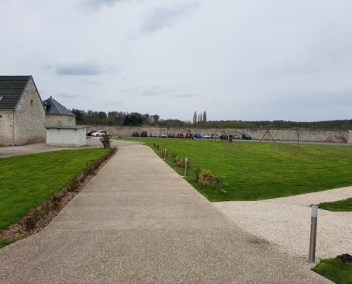 exterieur vue 2 Gites de Saint Remy mariage sonozikloc