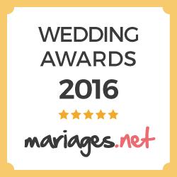 Mariage DJ 2016 awards