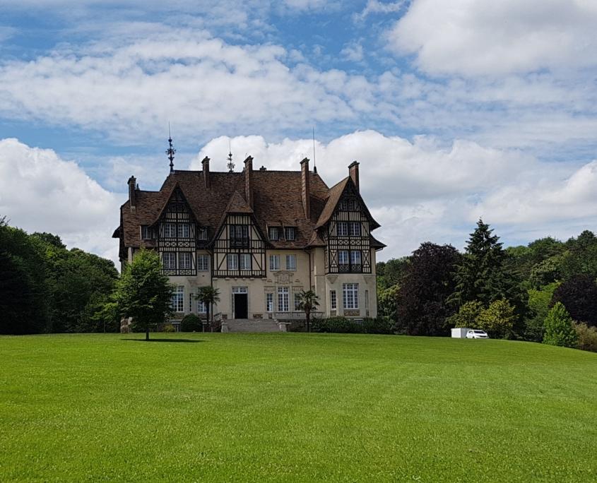 château de chambly exterieur