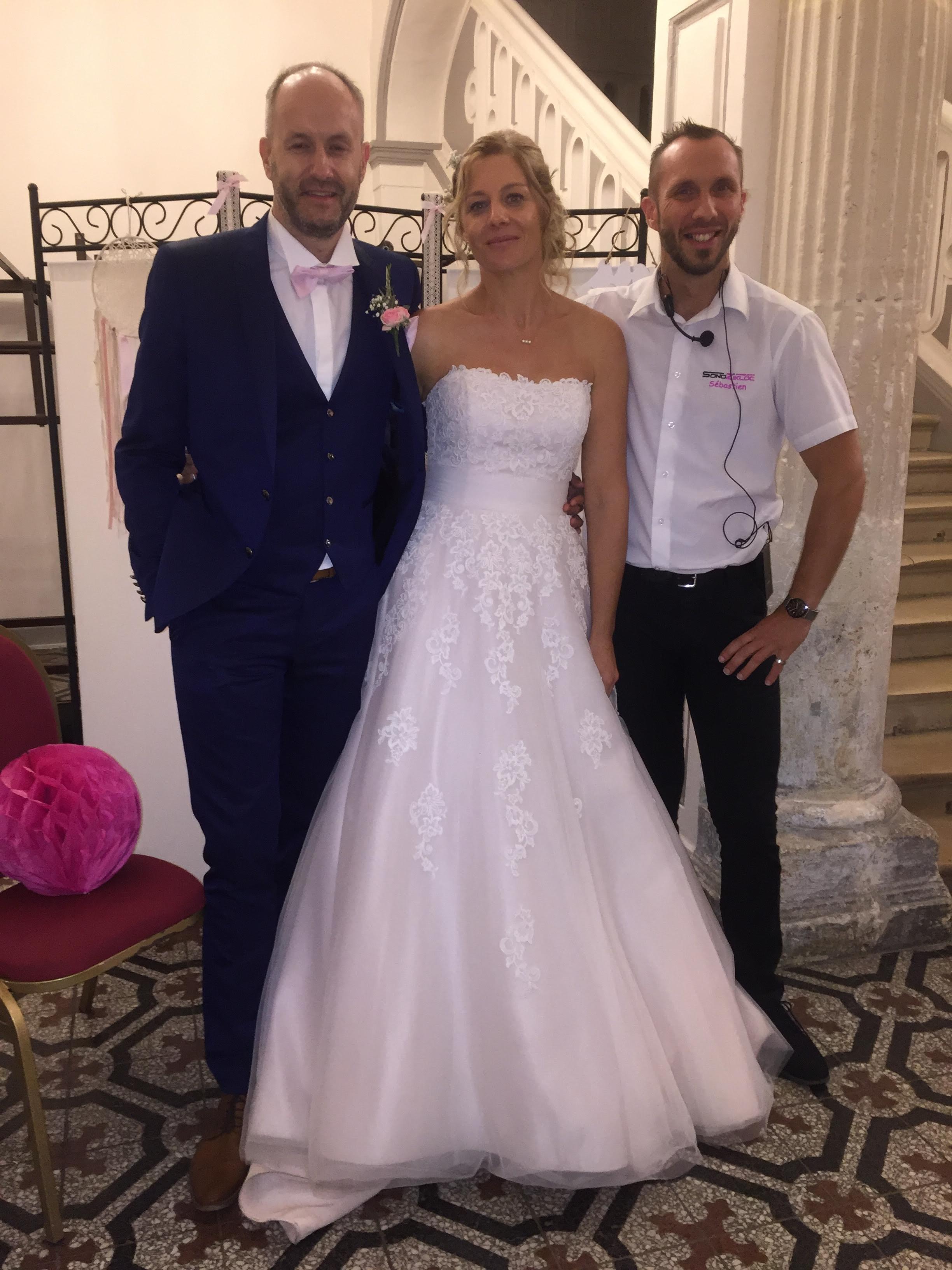 mariage cyril stephanie