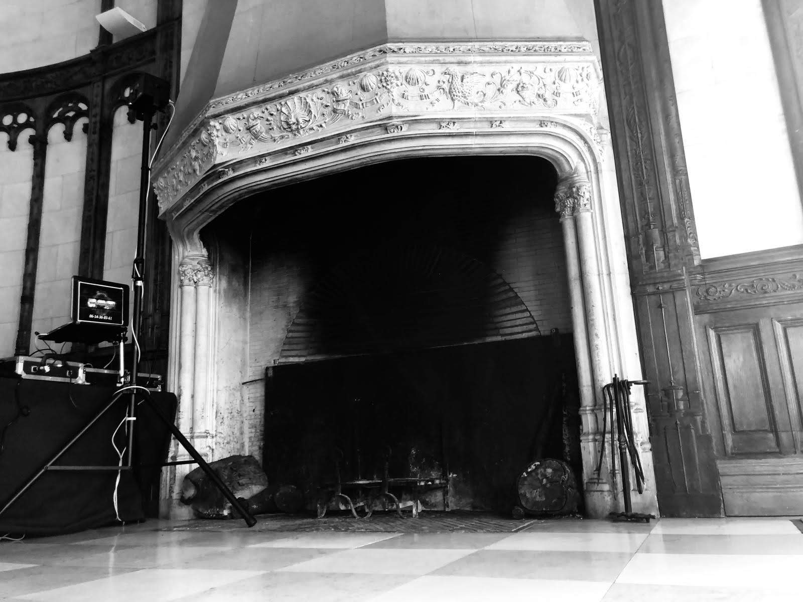 cheminee manoir de chantilly