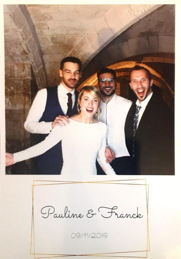 Pauline et Franck mariés Sonozikloc