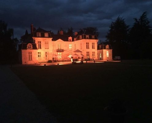 chateau auvillers la nuit